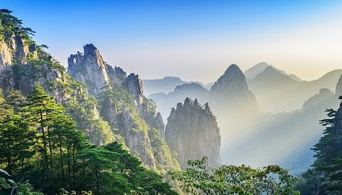 Huanghan mountains