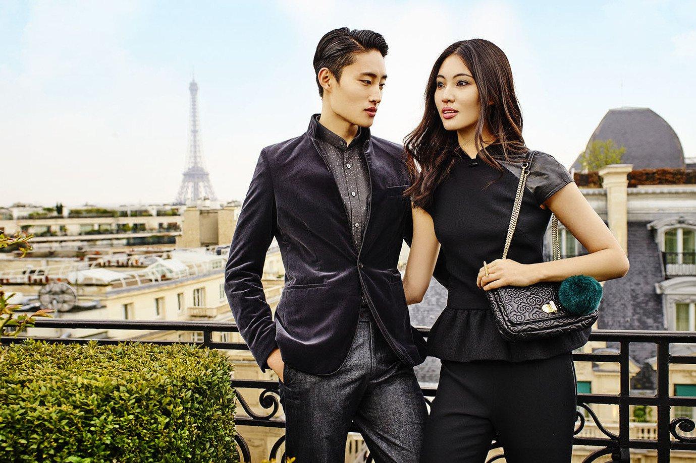 velvet blazer and black dress