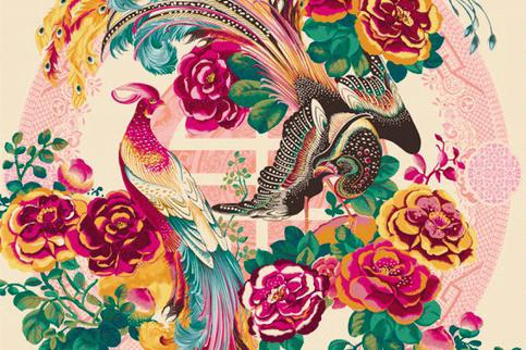 FW18 Phoenix Silk Square