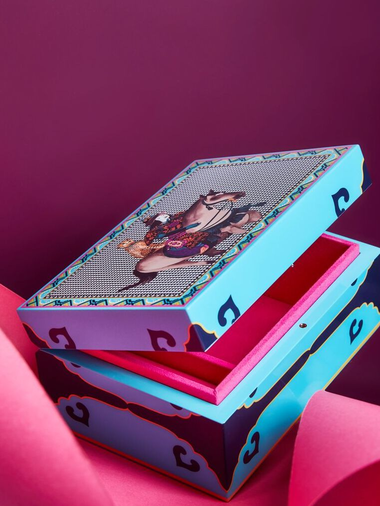 lacquered boxes