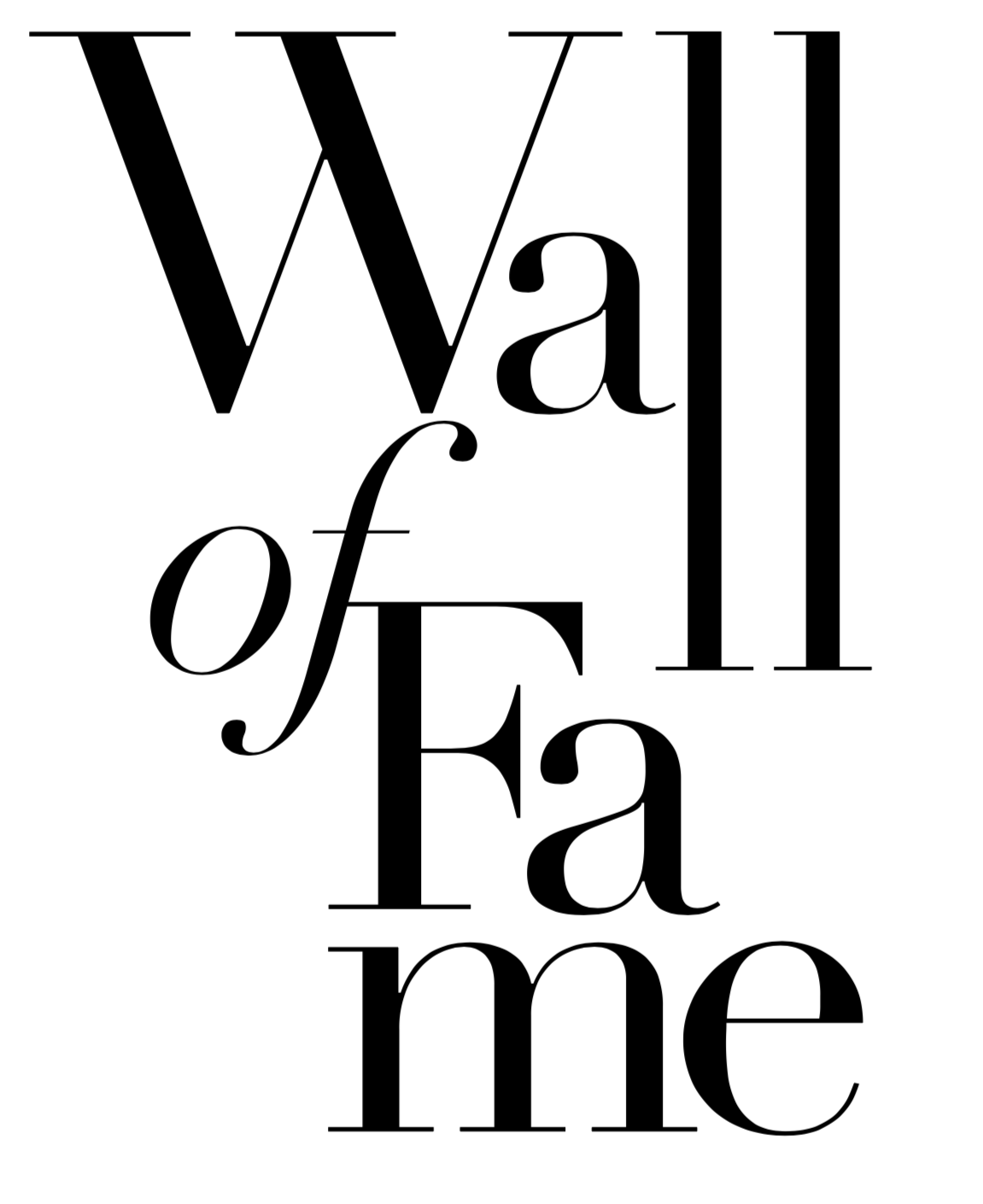 Wall of Fame (copy)