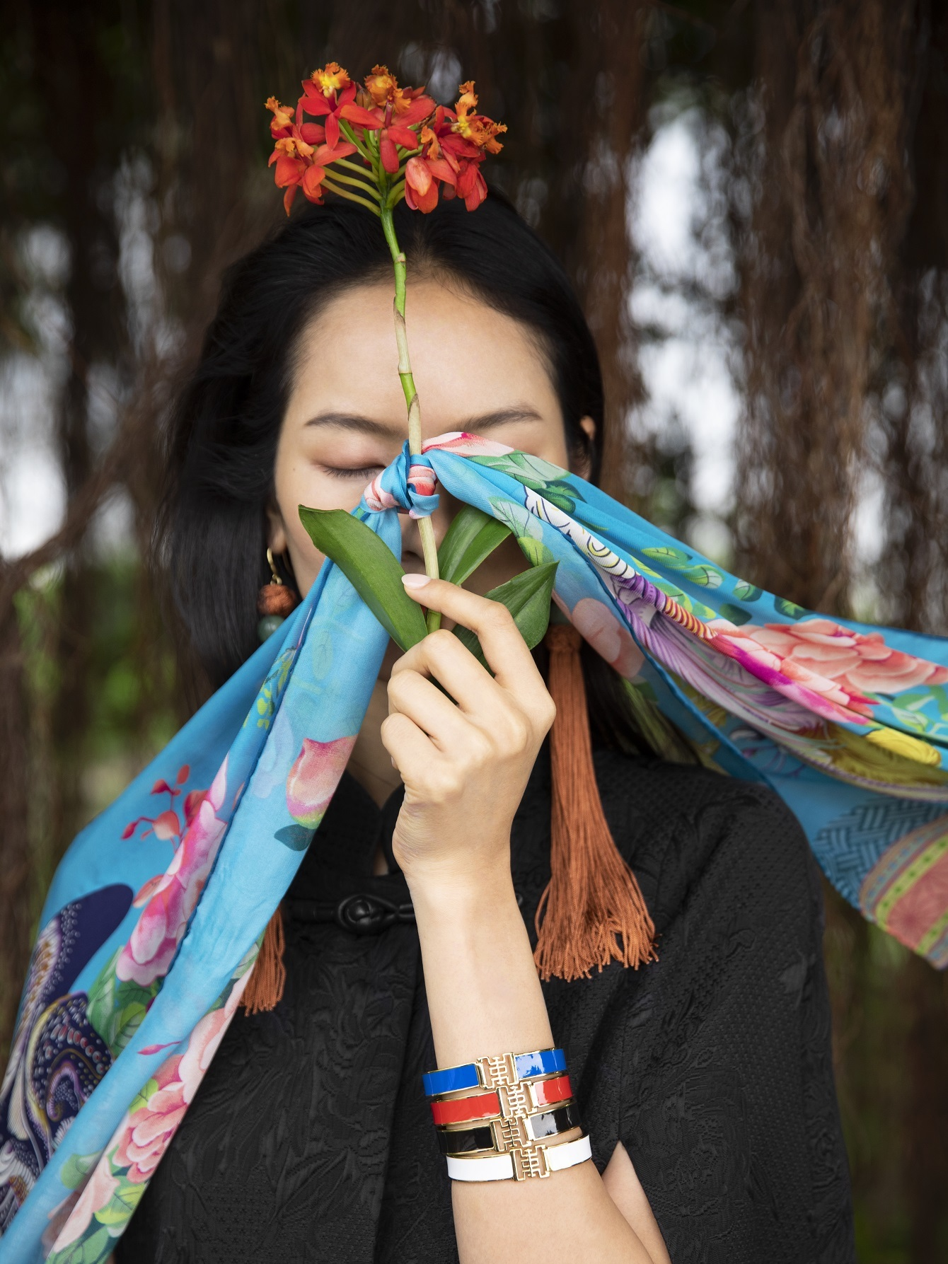 scarves & bangles