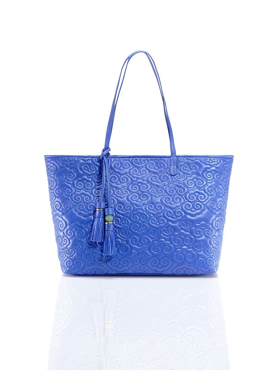Cloud Quilted Leather Tote