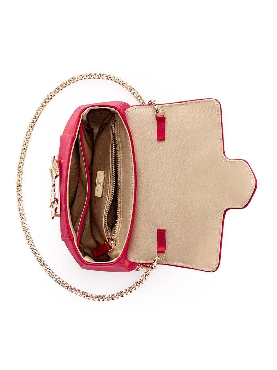 Gingko Silk Mini Shoulder Bag