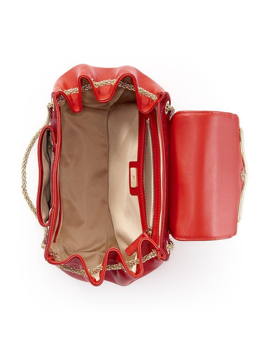 Mongolian Leather Shoulder Bag