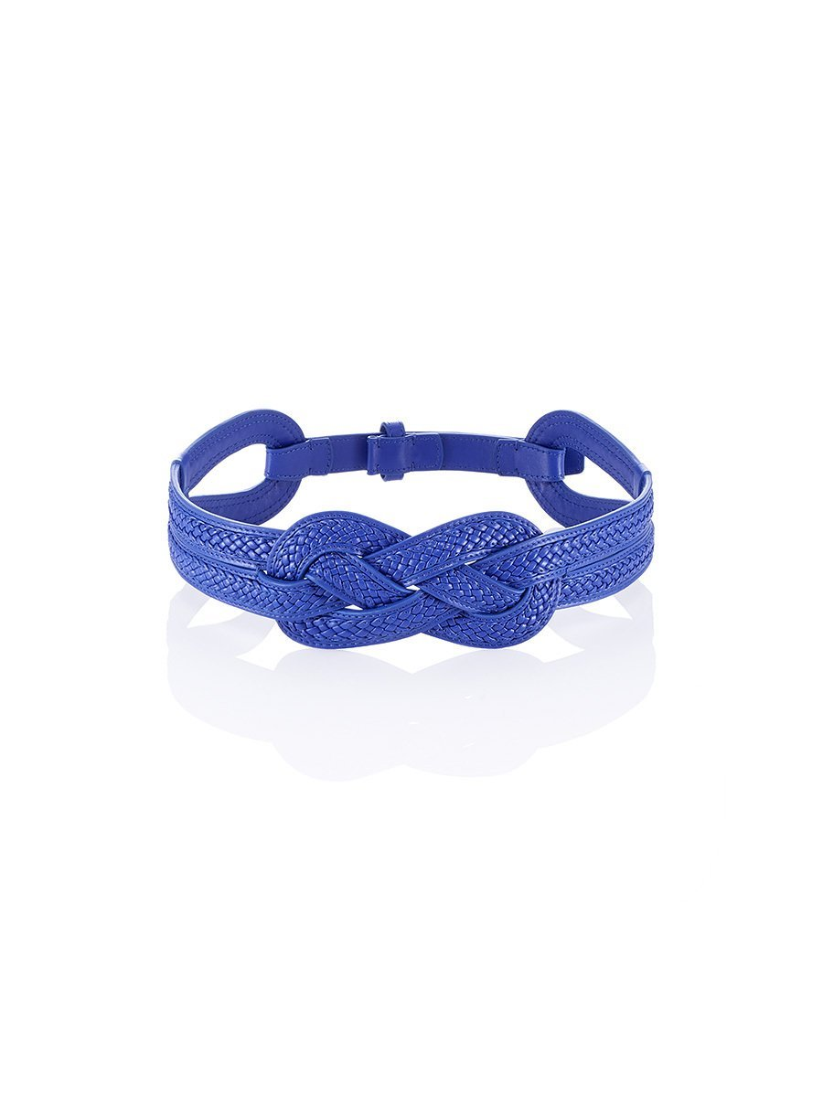 Eternity Knot Leather Belt