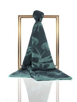 Lotus Silk Cashmere Shawl