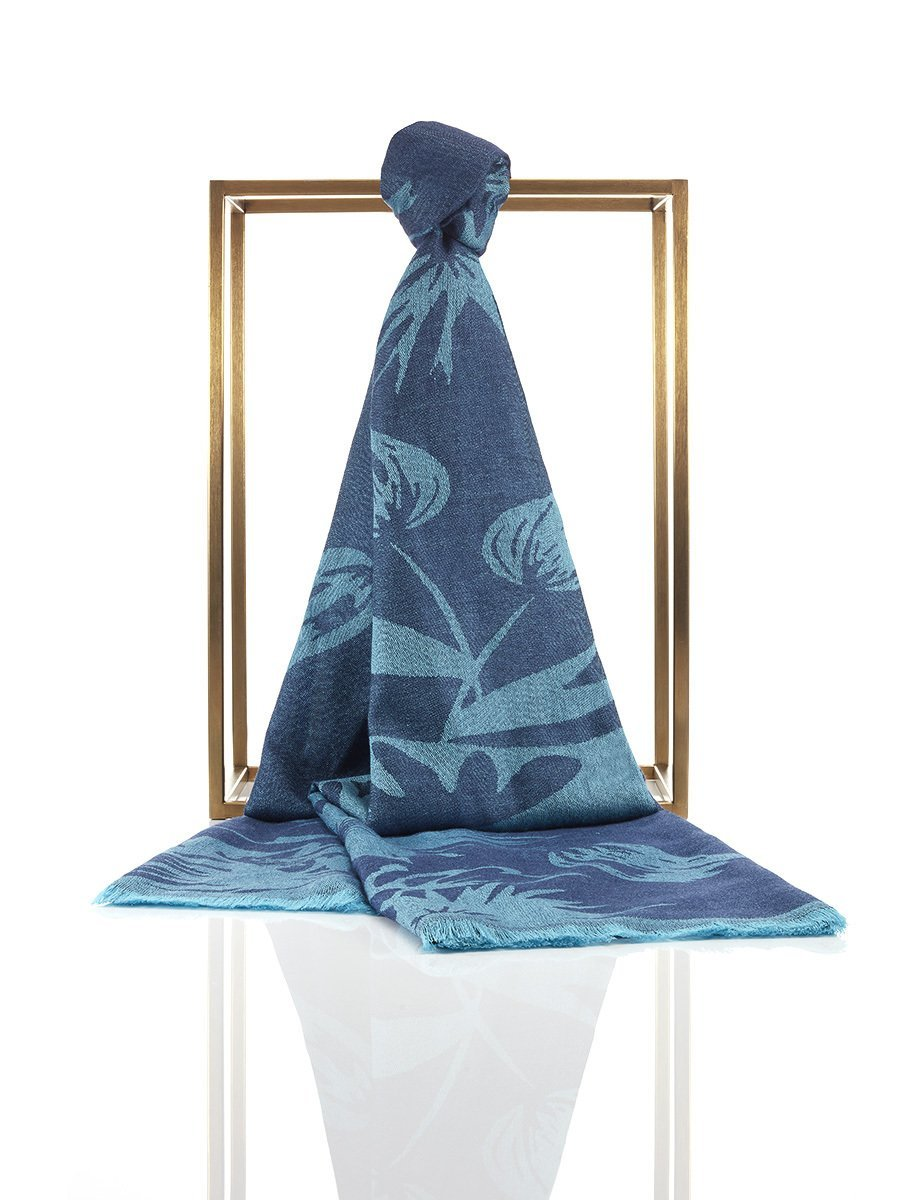 Lotus Silk Cashmere Shawl