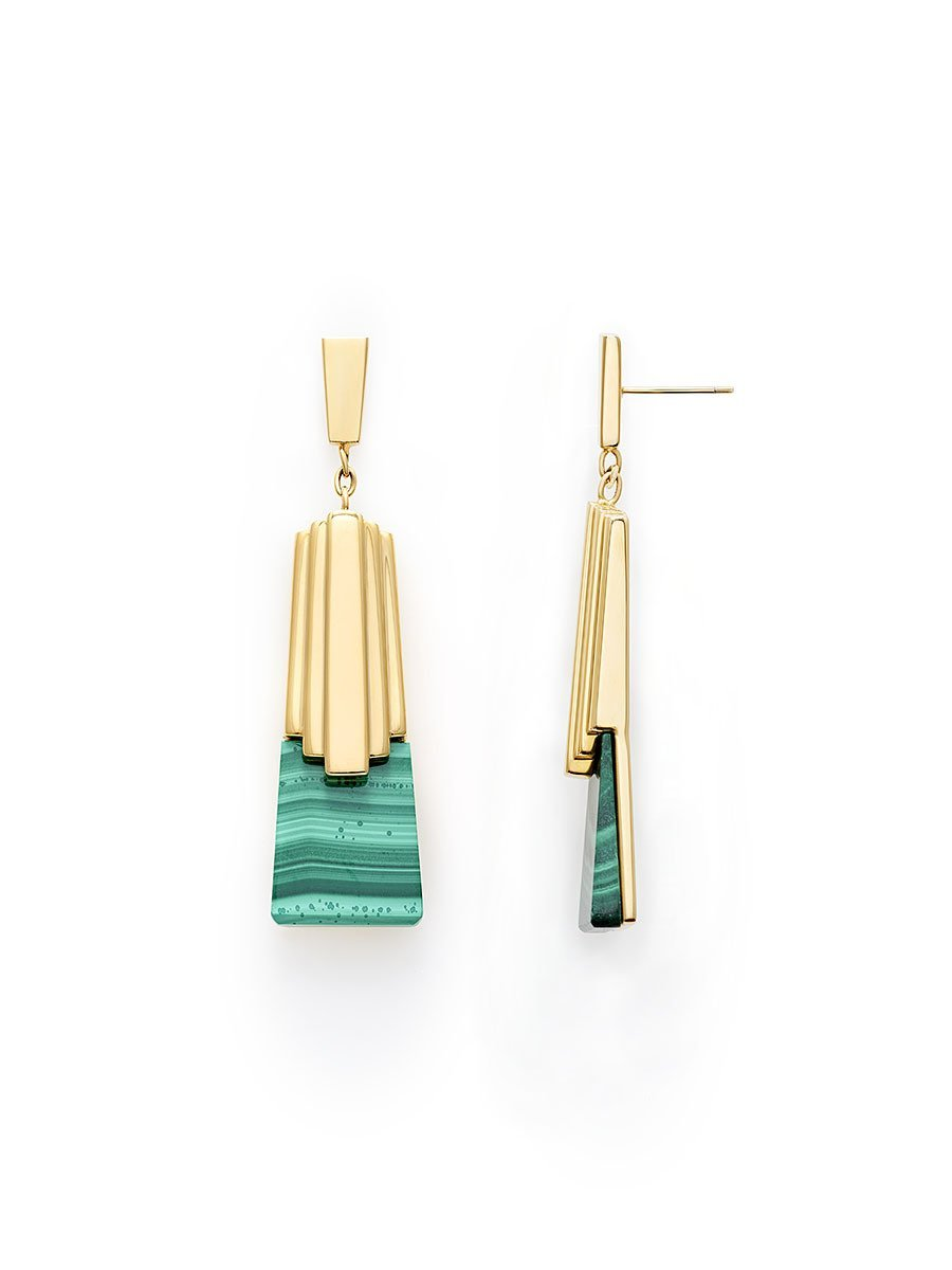 Tribal Deco Earring