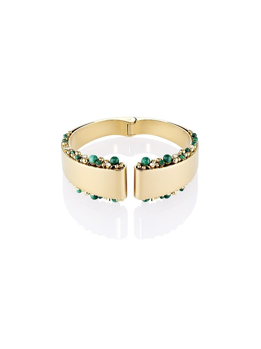 Beaded Deco Bangle
