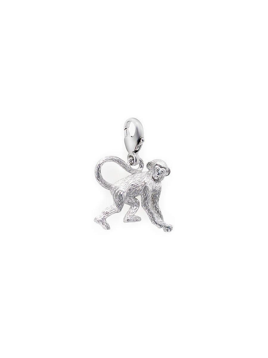 925 Silver Charm Monkey