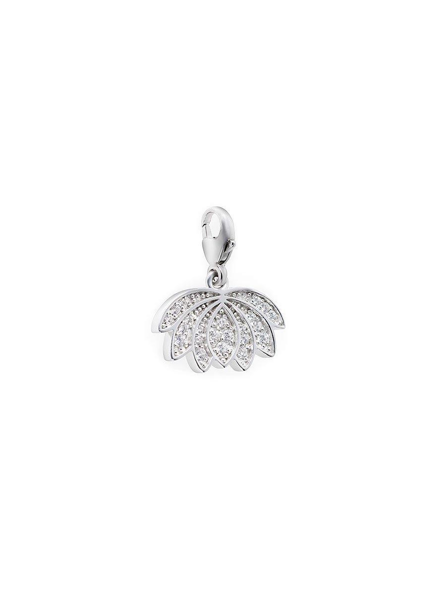 925 Silver Charm Lotus