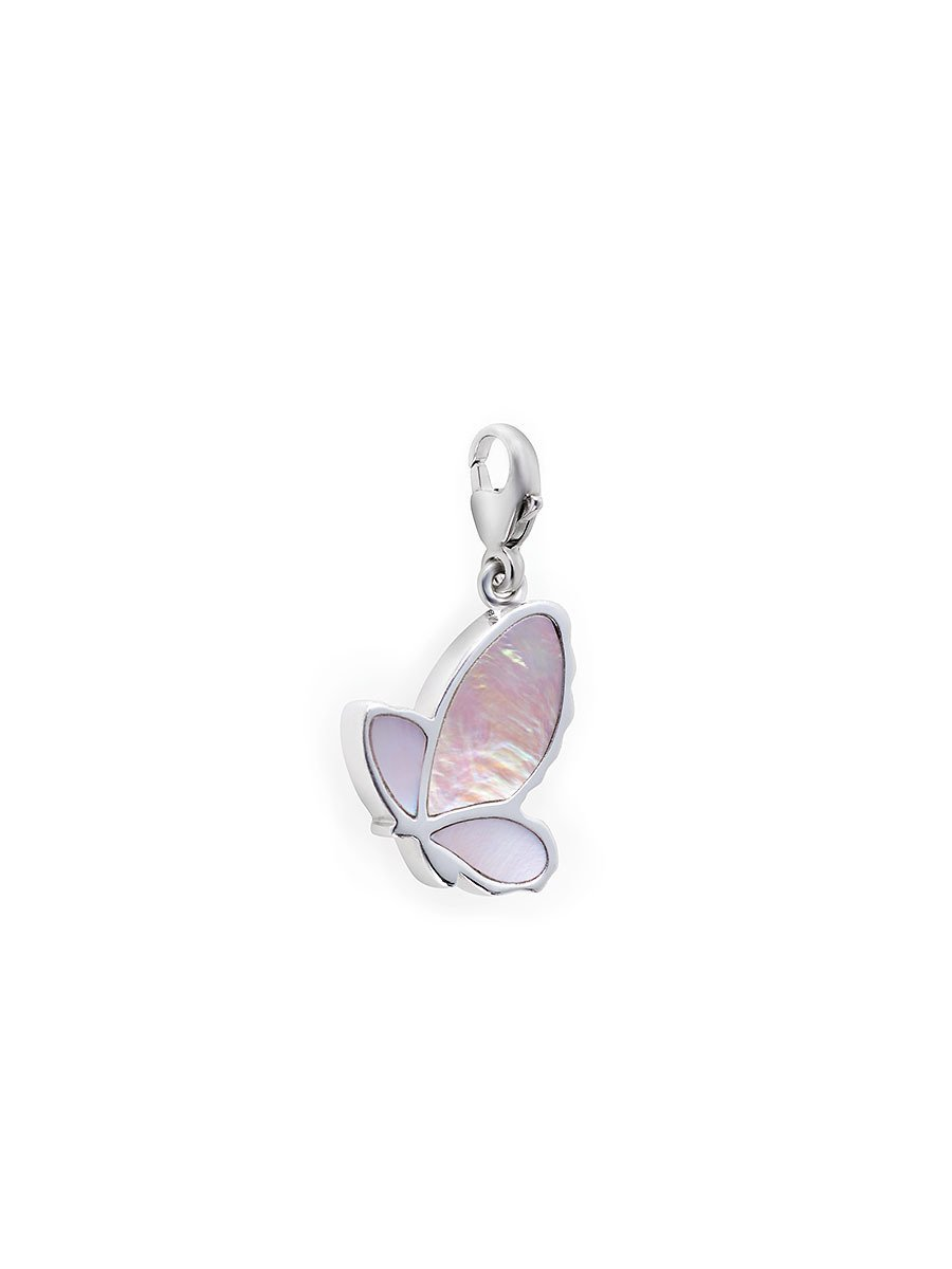 925 Silver Charm Butterfly
