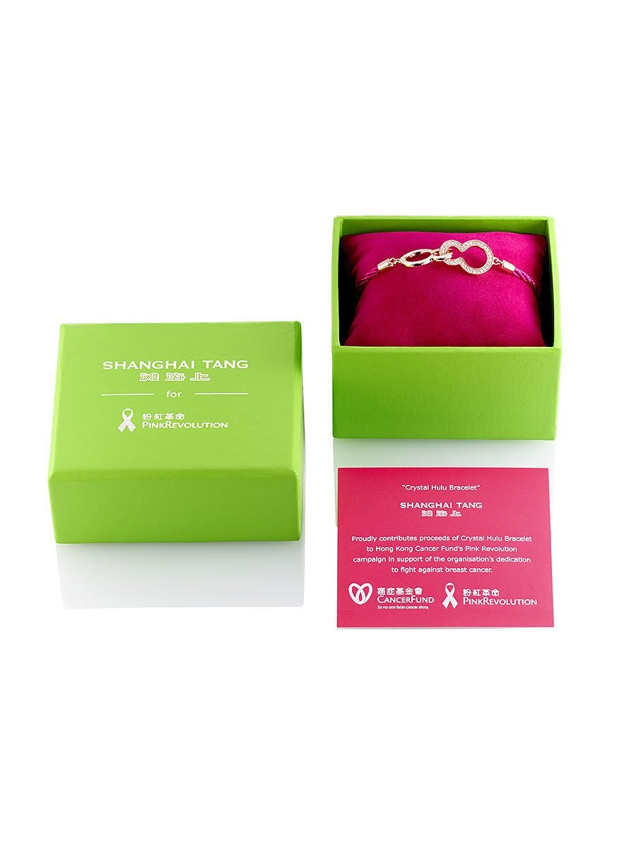 Cancer Fund Crystal Hulu Bracelet