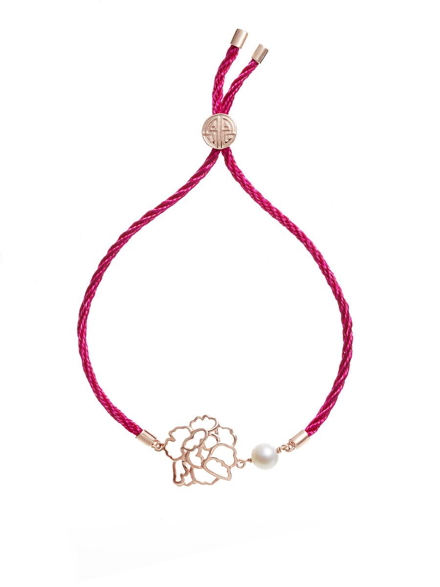 Pearl Peony Bracelet