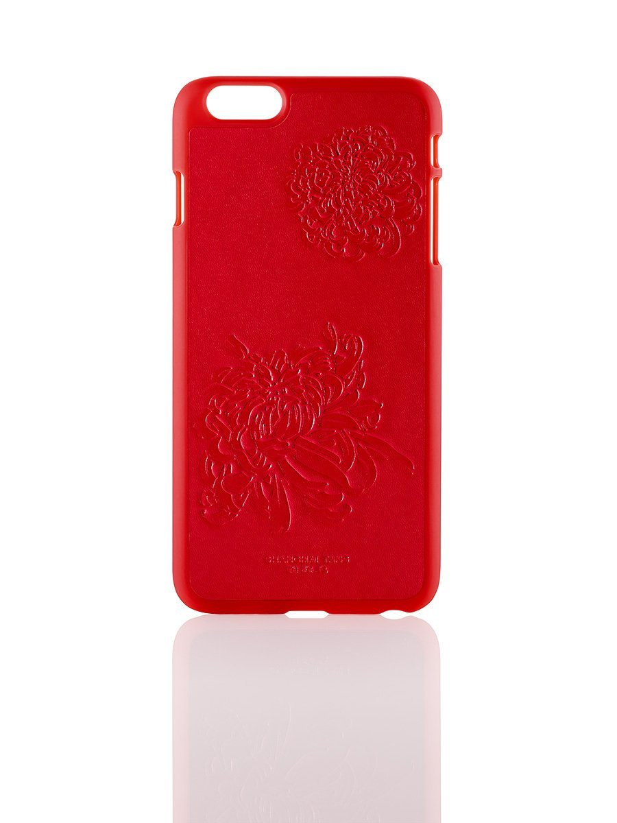 Chrysanthemum Leather iPhone 6 plus Case