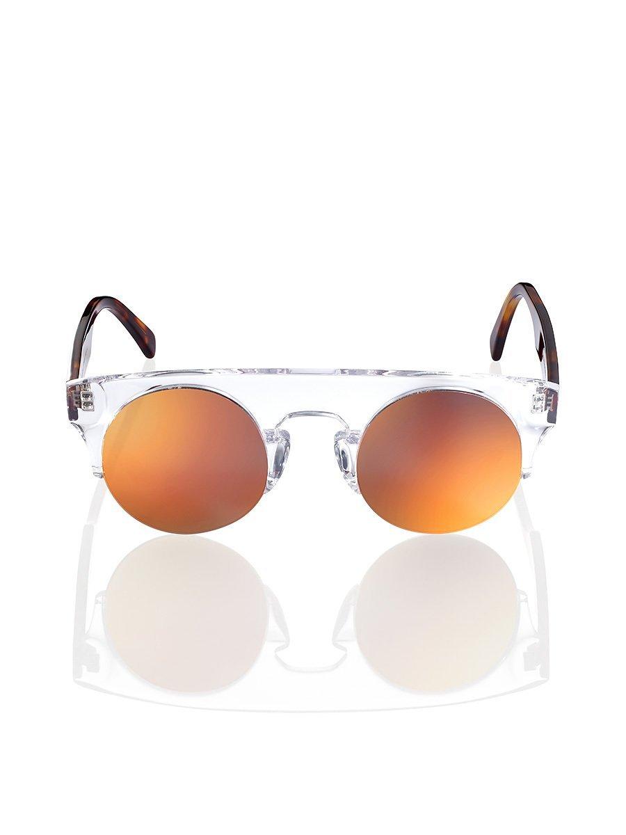 Clear Mirror Sunglasses