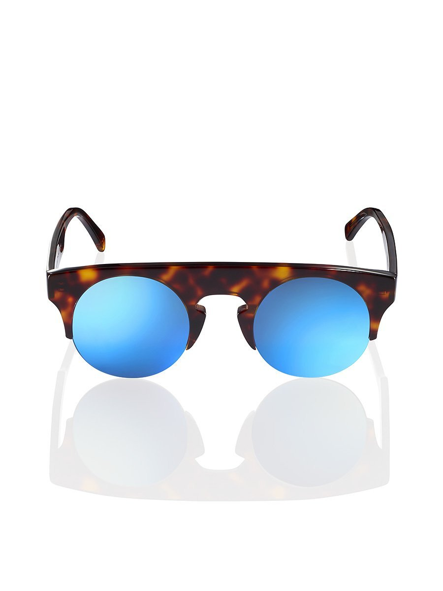 Tortoise Shell Mirror Sunglasses