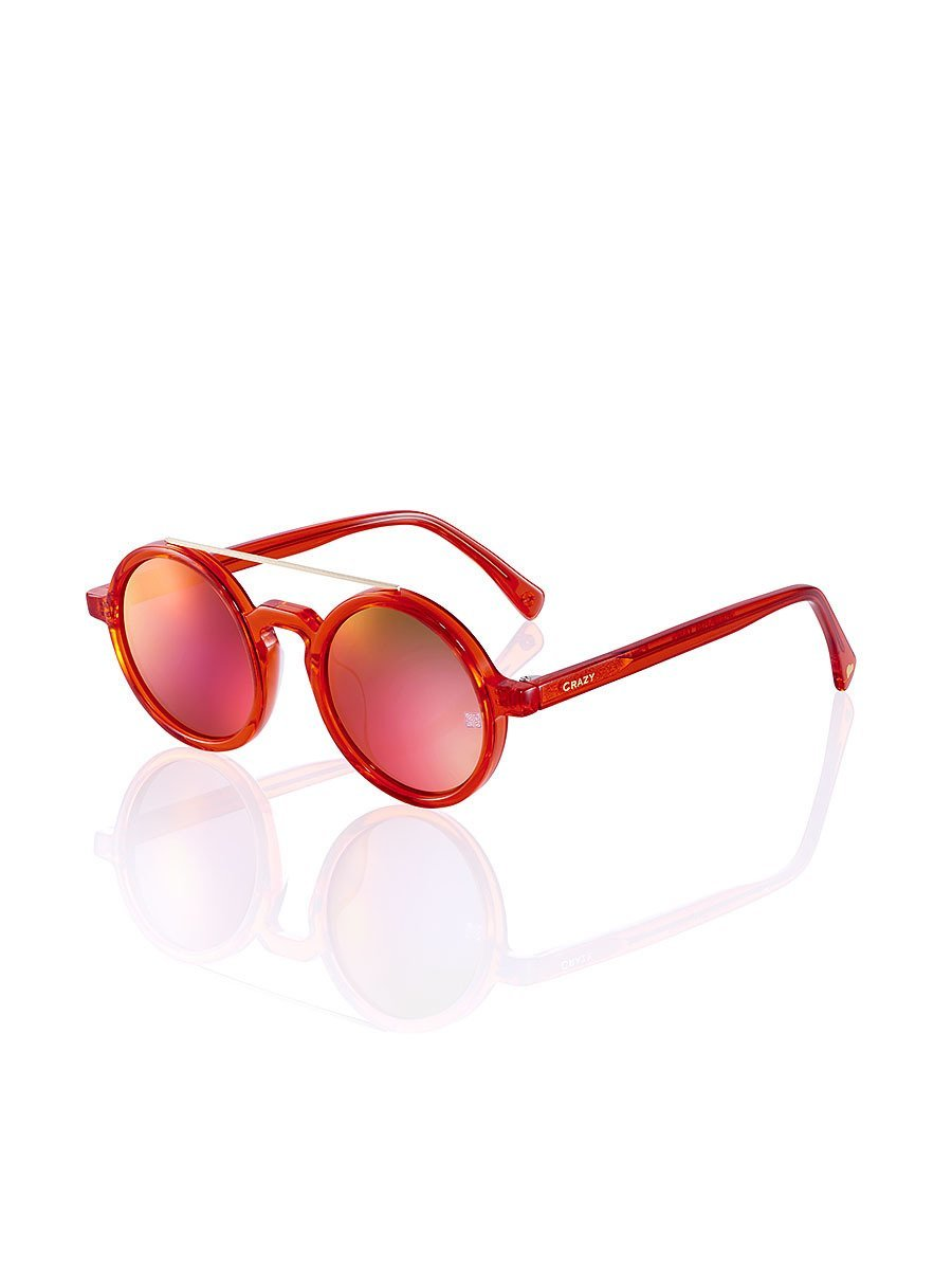 Retro Chinese 'Crazy Rouge' Sunglasses