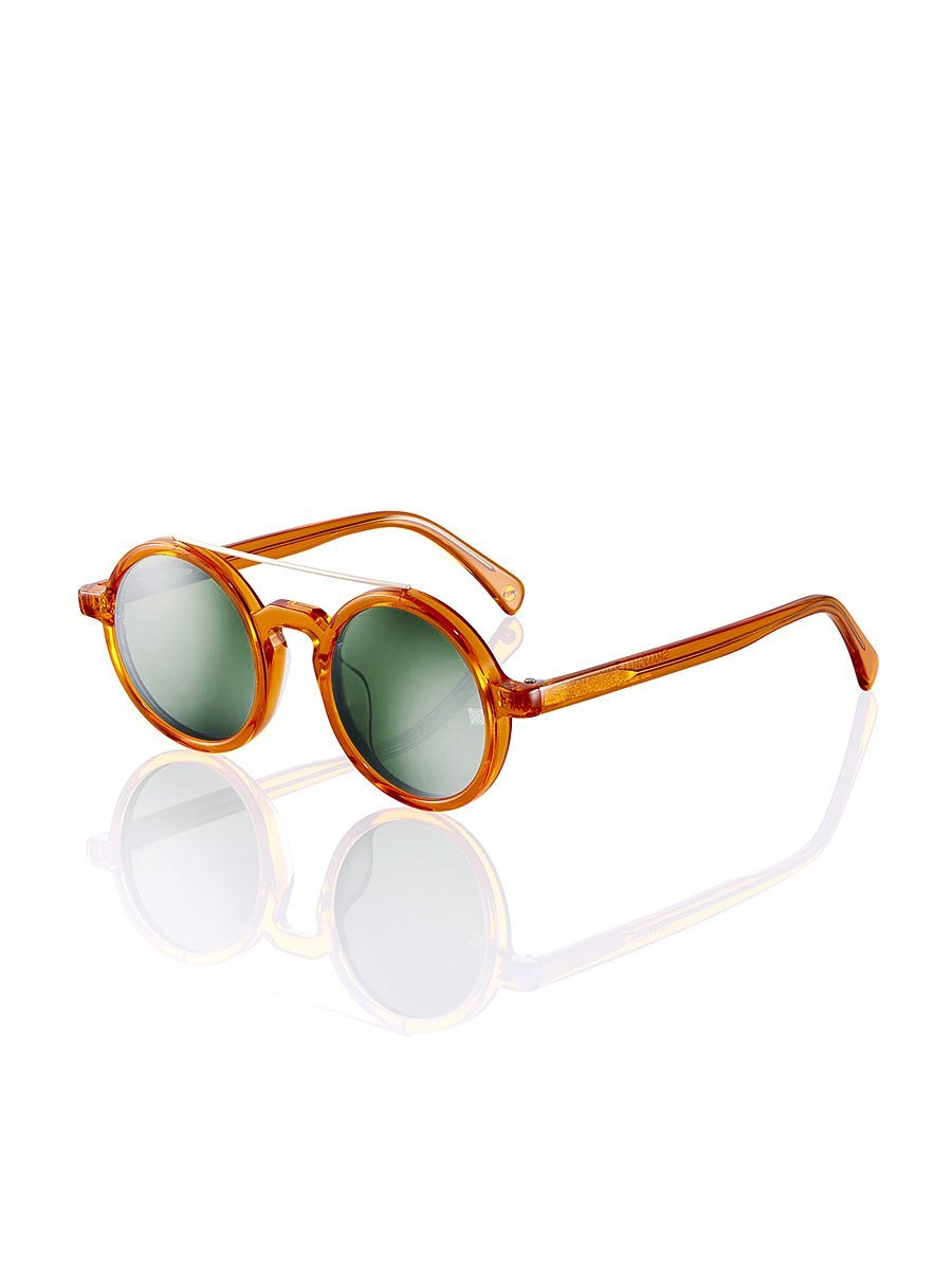 Retro Chinese Round Sunglasses