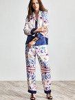 Jacky Tsai Print Pyjamas Set