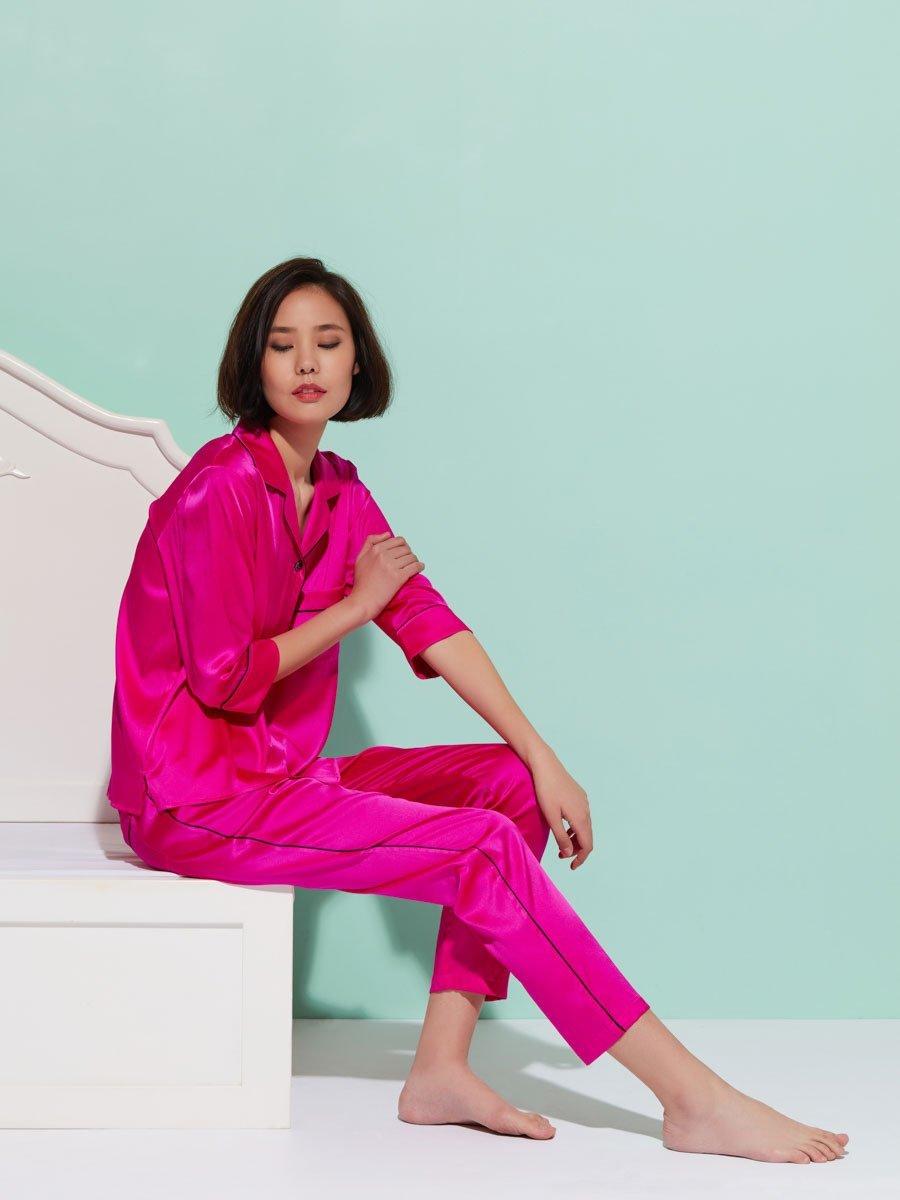 Women's 3/4 Sleeve Pajama Set