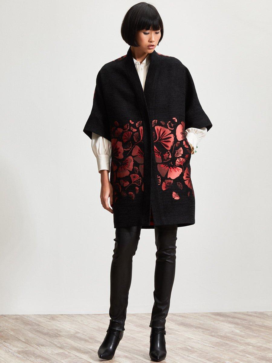 Ginkgo Jacquard Coat
