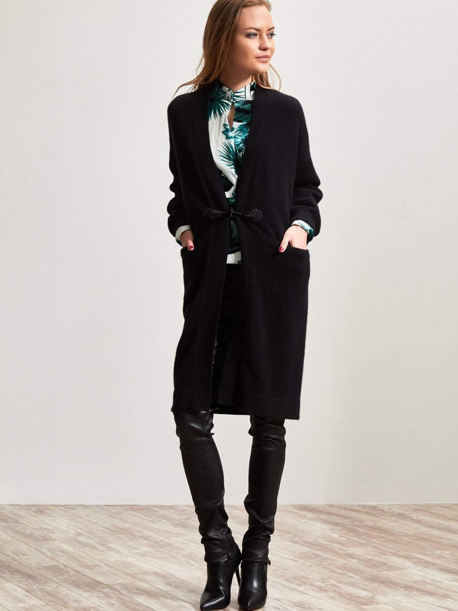 Cashmere Print Lined Coat