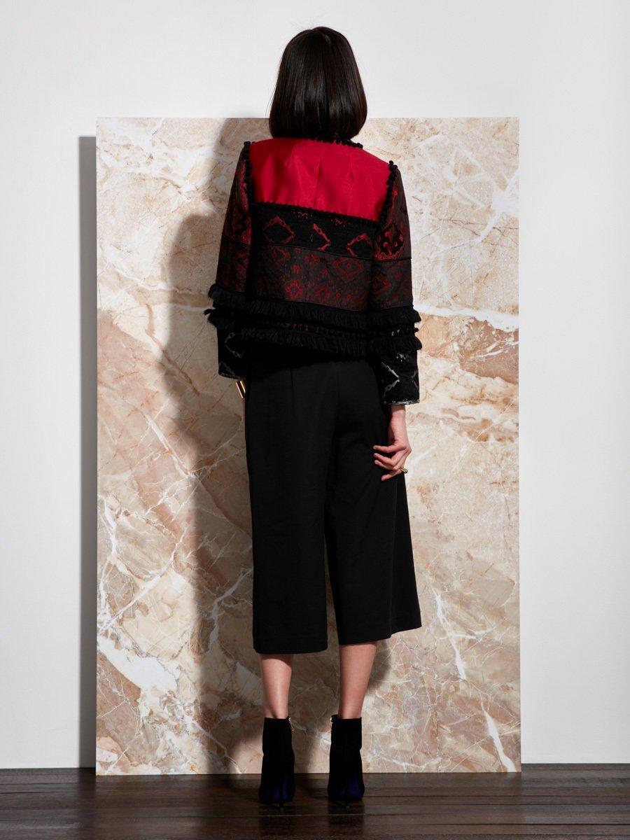 Silk-Cotton Patchwork Jacket