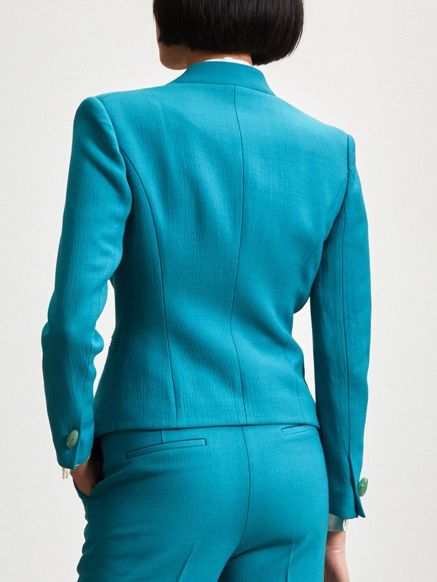 Wool Blend Fit Jacket