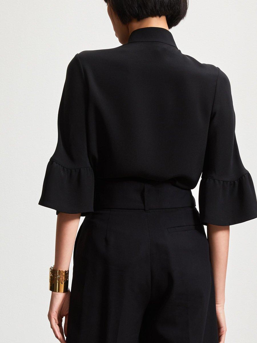 3/4 Sleeve Silk Blouse