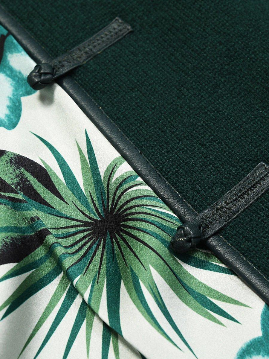 Cashmere-Silk Lined Tulip Cardigan