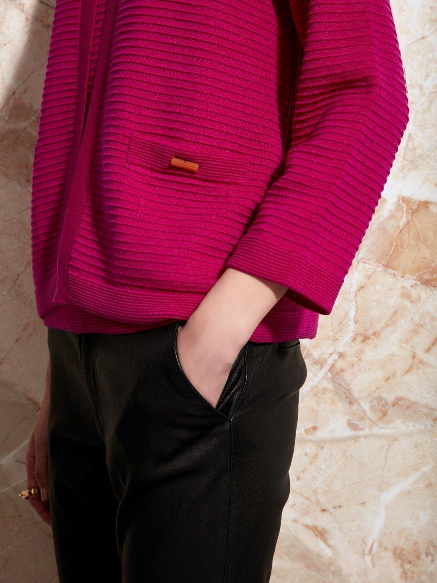 Wool Ottoman Cardigan