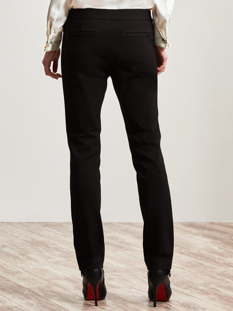 Rayon Straight Leg Pants