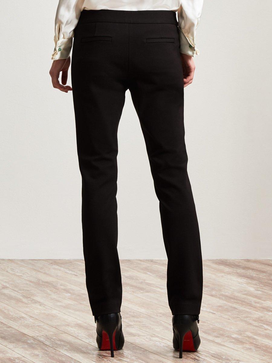 Rayon Straight Leg Pants
