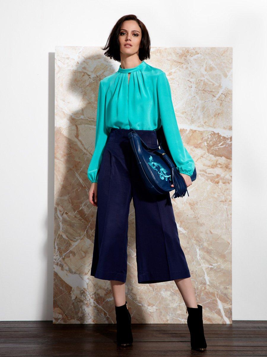 Silk Ottoman Culottes