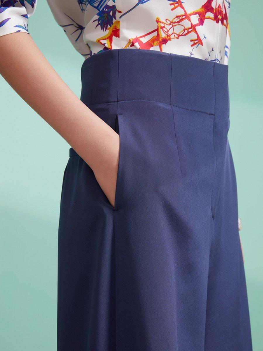 Silk Spandex Culottes