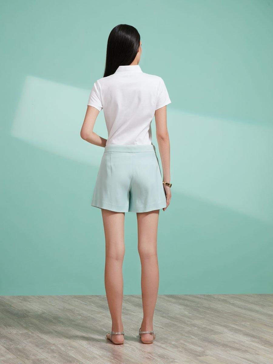 Viscose Elastane Shorts