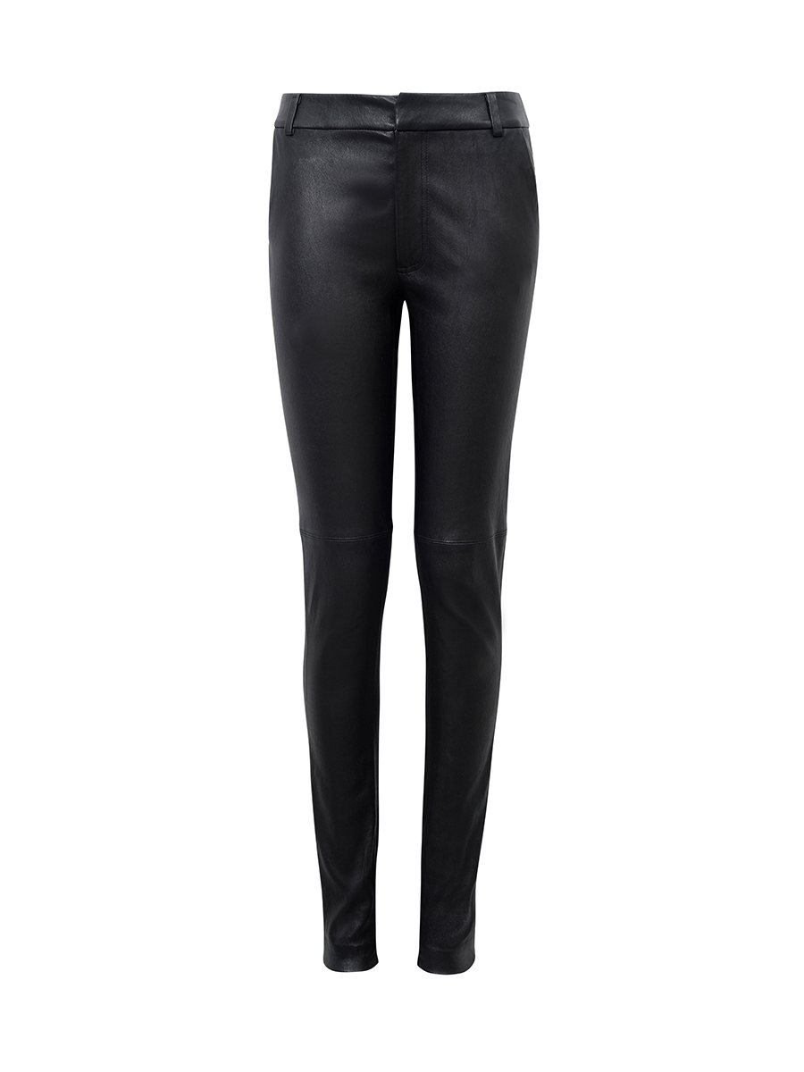 Stretch Leather Pant
