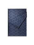 Silk Wool Fil Coupe Lattice Scarf