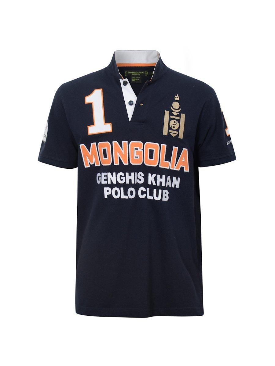 Mongolian Genghis Khan Polo Club Polo Shirt