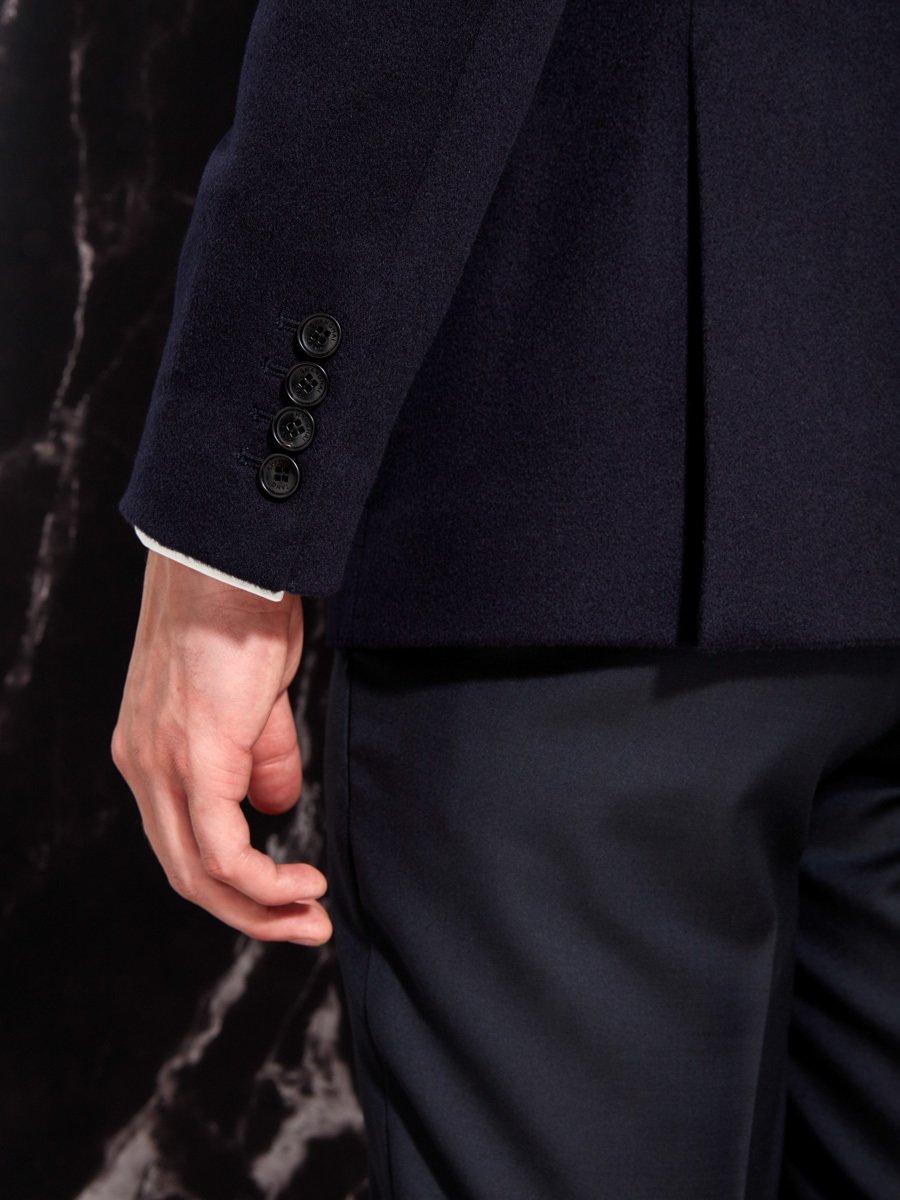 Cashmere One Button Jacket