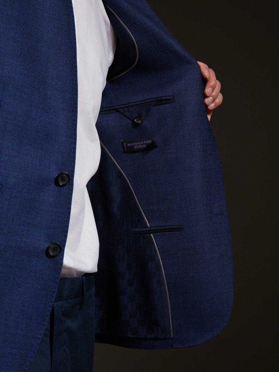 Wool-Silk Light Blazer
