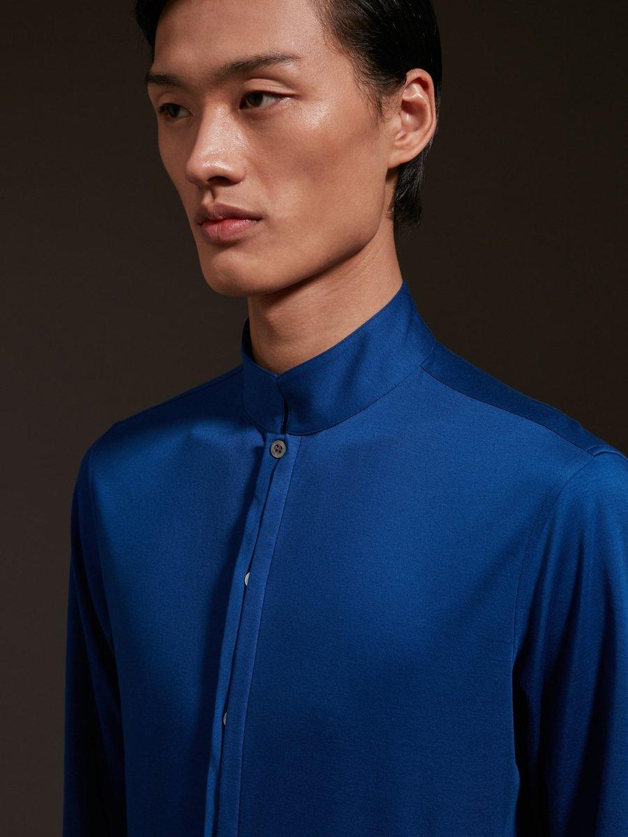 Cotton Jersey Interlock Shirt