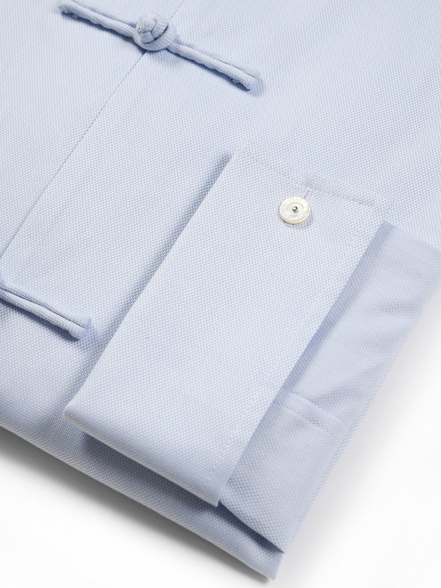 Cotton Shirt With Frog Buttons