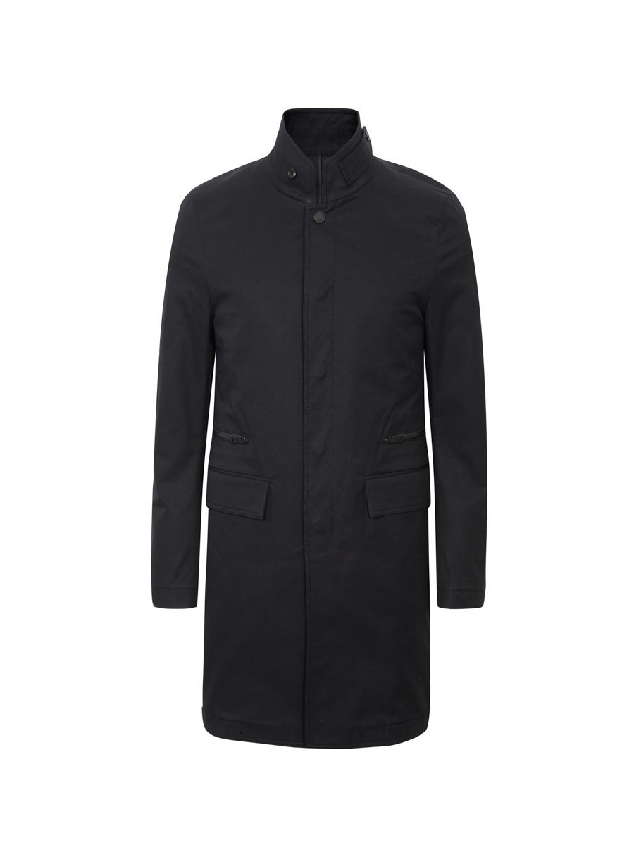 Cotton Mako Car Coat (Slim Fit)