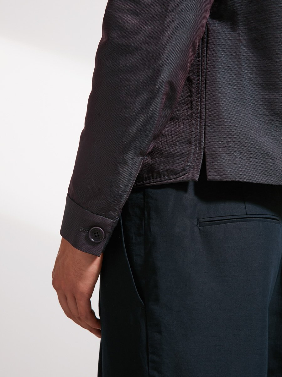 Nylon Cotton Two-Tone Neo Tang Jacket