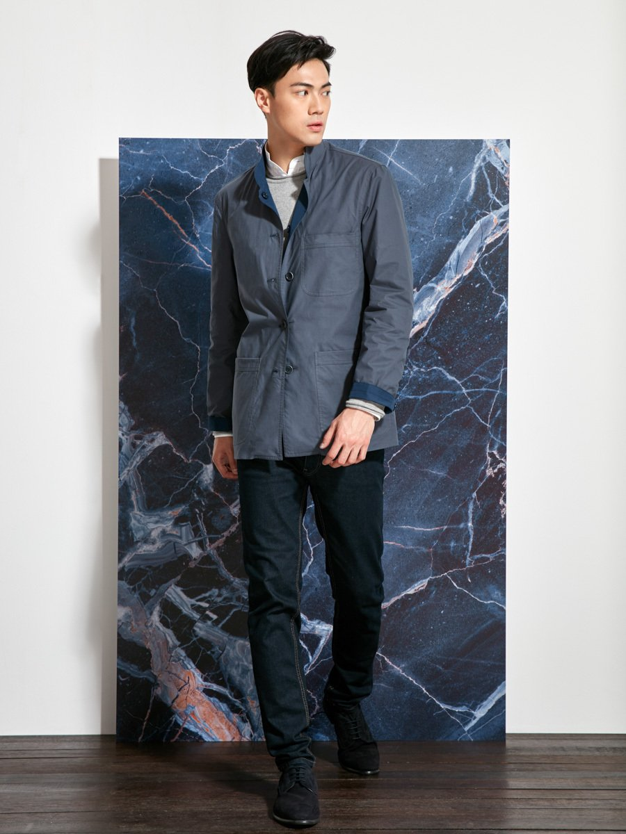 Poly-Cotton Reversible Jacket