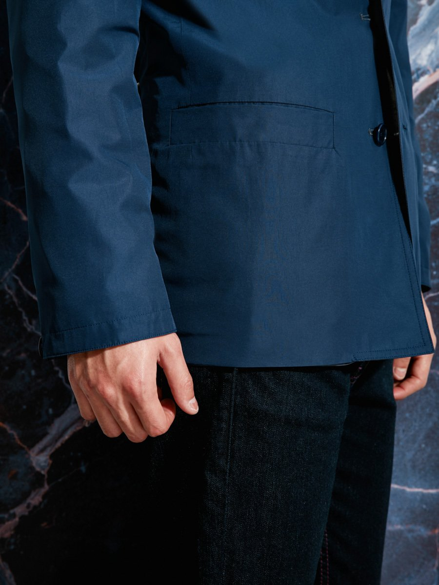 Poly-Cotton Reversible Jacket