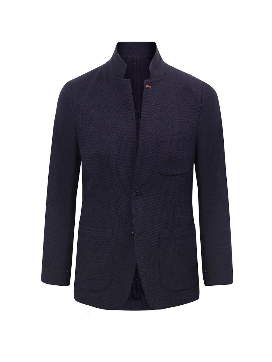 Cotton Thick Pique Blazer (Slim Fit)